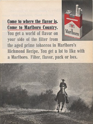 Marlboro Country Advertisment